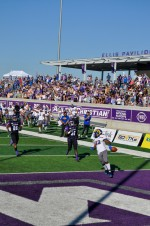 Rams use running game to defeat D1 Abilene Christian in season finale