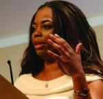 Aspiring sports journalists must be 'all in,' ESPN's Jemele Hill tells students
