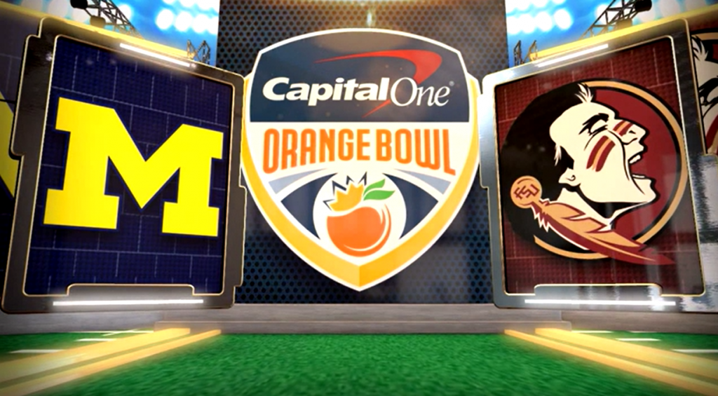 Seminoles outlast the Wolverines in the Orange Bowl