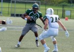 Harris breaks Castleton rushing record