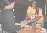 Homecoming week kicked off with ice cream social