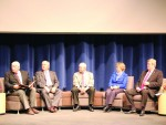 President's panel talks about the college, past and present