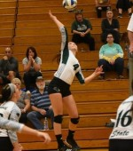 Volleyball Ended by Keene State in First Round