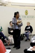 Future teachers experience dyslexia simulation to foster understanding