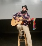 Activist-Performer Peter Jam stages show