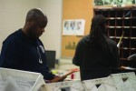 Detroit Mercy mail services men keep packages flowing across campus