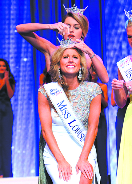 Miss Louisiana winner