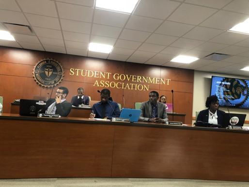Moricette elected president of Student Senate