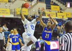 Rams basketball defends home court defeating TAMUK