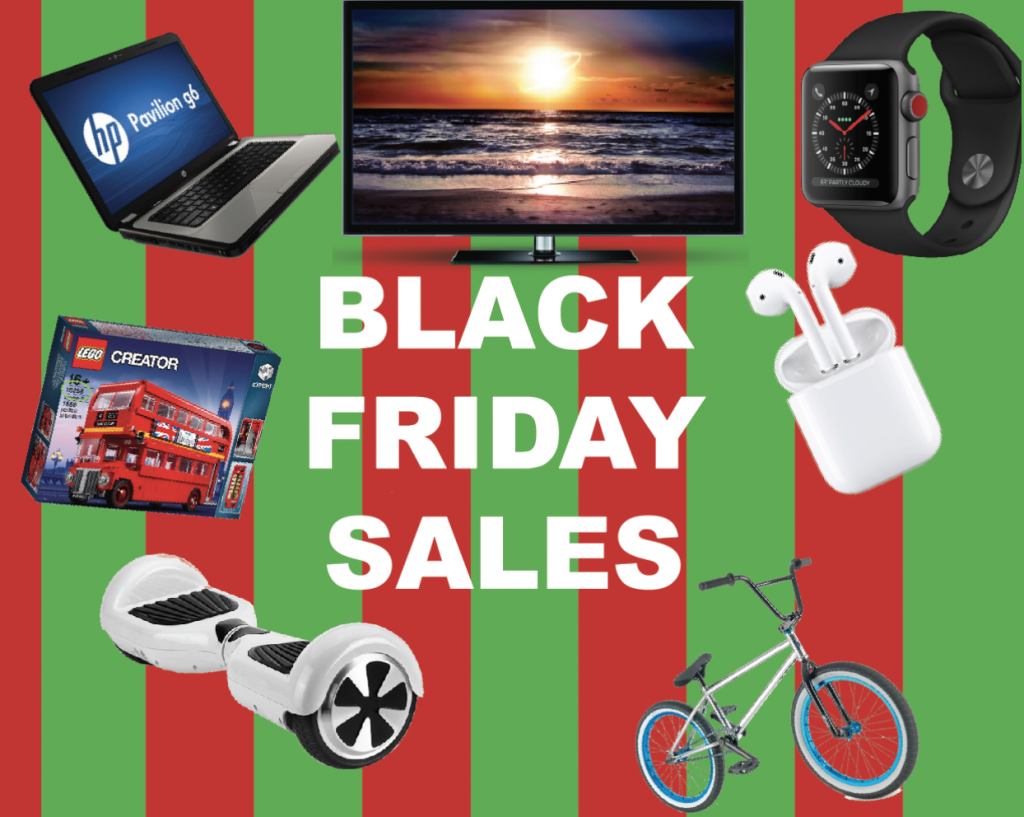 Black Friday: then vs. now