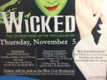 Student Activities Hosts 'Wicked' Trip