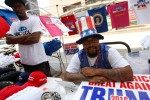 Black Street Vendors Sell Pro-Trump Apparel