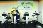Community keeps fitness center going