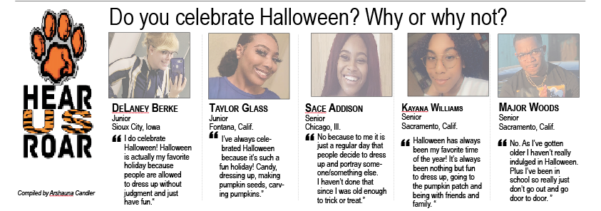Talk Back: Do you celebrate Halloween? Why or why not?