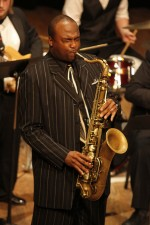 Alumnus honored through jazz festival