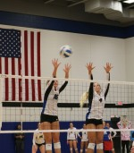 Eagles volleyball dominates at home