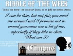 11/15/19 RIDDLE OF THE WEEK