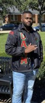 Adrian Consonary Jr. serving as UAAM Inc. chapter president