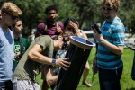 USF campus fills with excitement while viewing solar eclipse