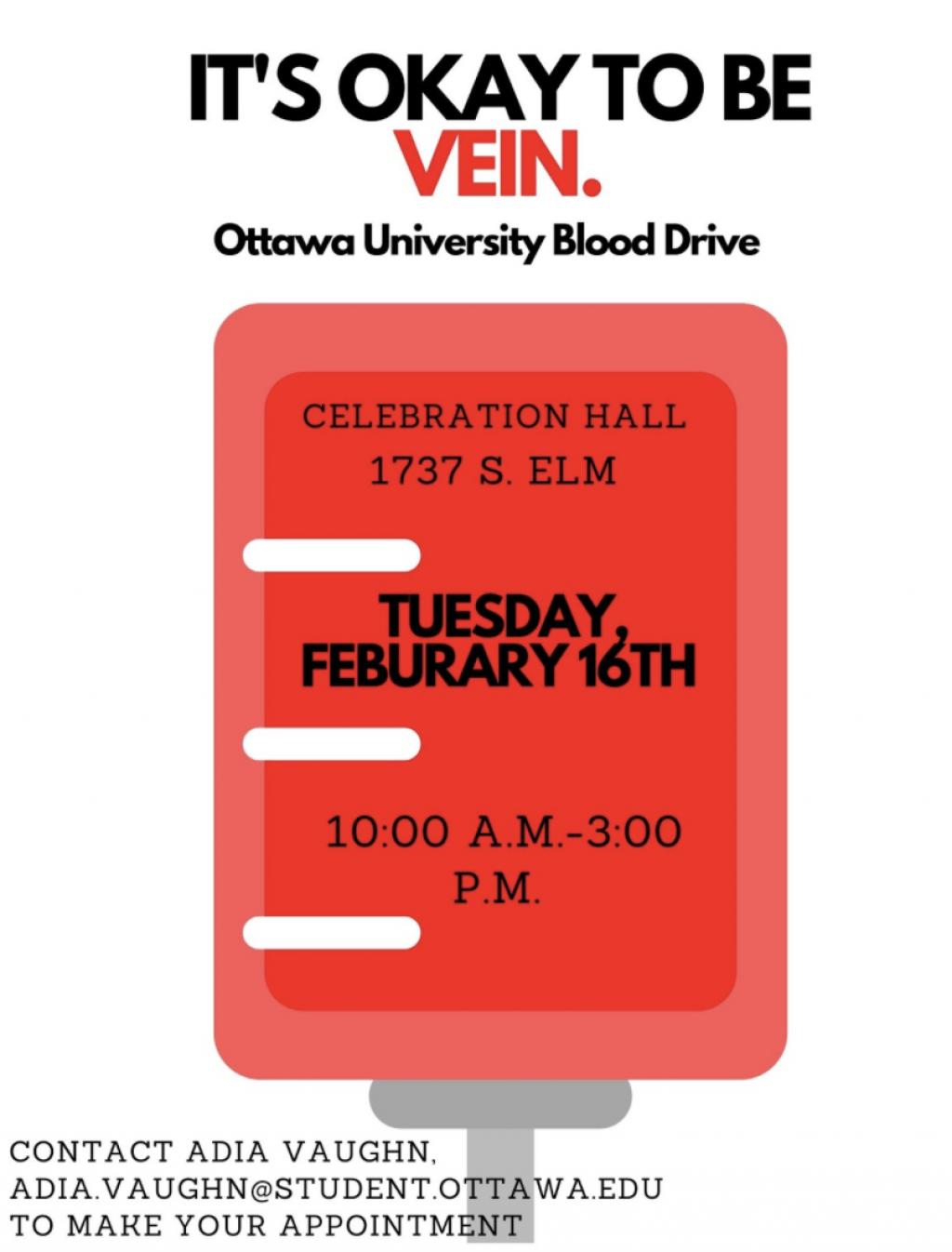 Ottawa blood drive