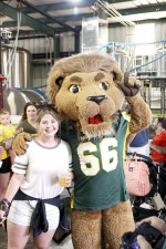 University family celebrates Lion Up beer
