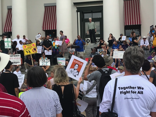 Rally at Capitol against separation of immigrant families