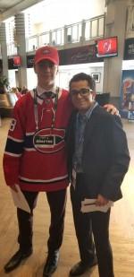 CU student covers 2018 NHL draft