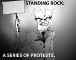 Dakota Access Pipeline protest: