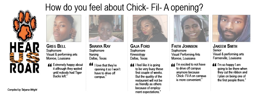 Talk Back: How do you feel about Chick- Fil- A opening?
