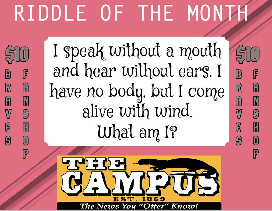 8/21/2020 RIDDLE OF THE MONTH