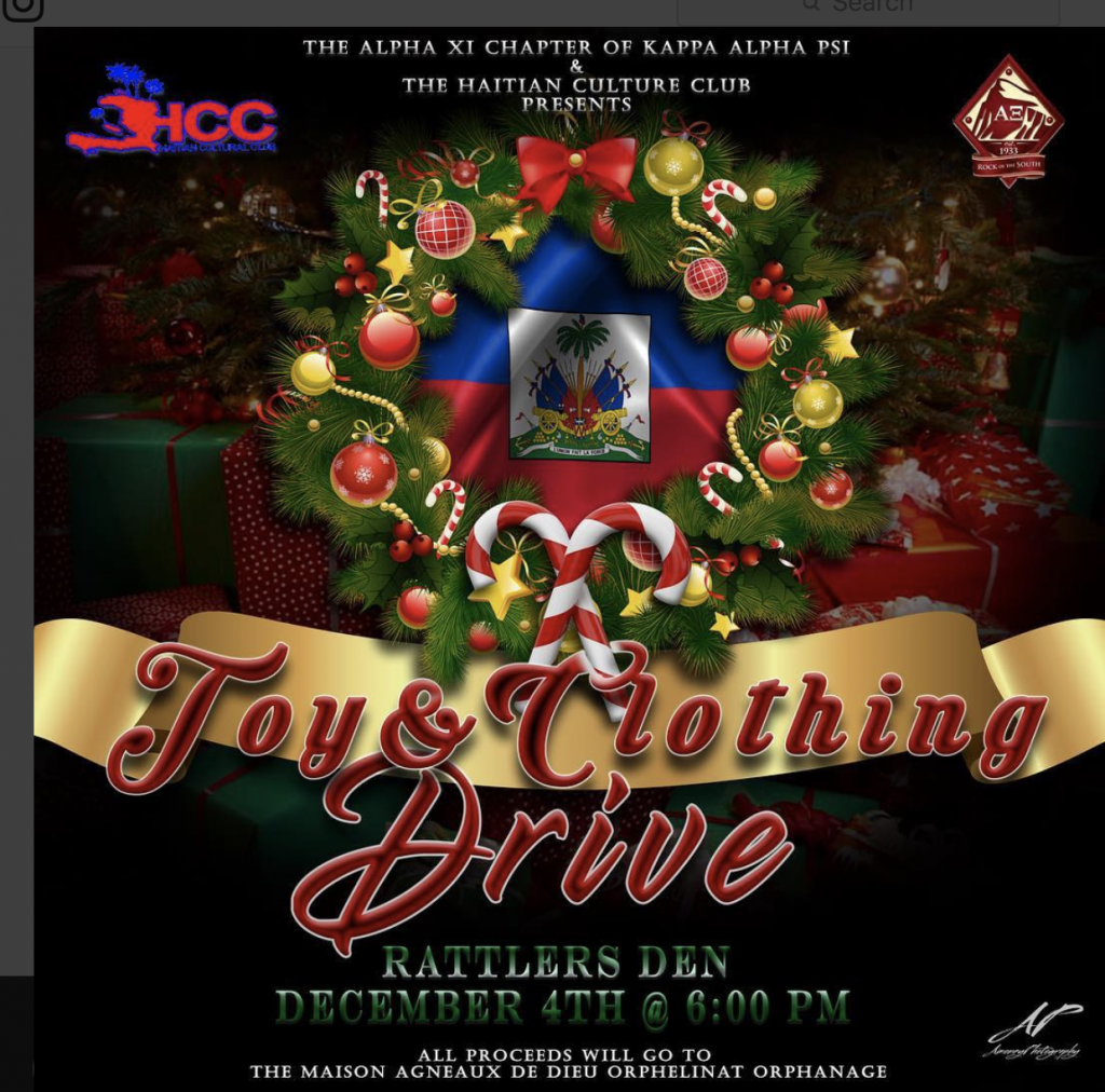 Fraternity, Haitian Culture Club host toy and clothing drive