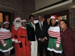 President and first lady robinson hosts holiday toy drive