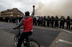 Peaceful protests turn into riots in Baltimore