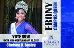 Miss Dillard Chelsea D. Bosley prepares for N.Y. trip, Ebony photo shoot
