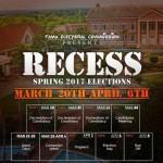FAMU Spring 2017 Campaign Period