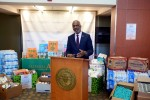 Law school donates supplies to main campus post-hurricane