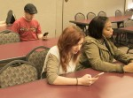 Students distracted by digital devices in classroom