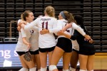 Women's volleyball carried two wins this weekend