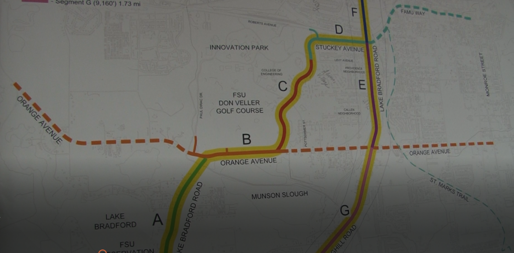 The city of tallahassee to vote on a new airport gateway project the map above shows plans to make improvements to roads such as stuckey aveand orange aveto help provide a gateway to and malvernweather Gallery