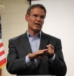 Gubernatorial candidate visits Tech