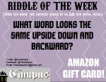4/10/2020 RIDDLE OF THE WEEK