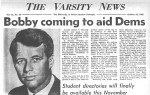 The day Bobby Kennedy came to campus