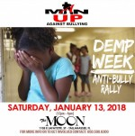 Man Up Against Bullying host rally at The Moon