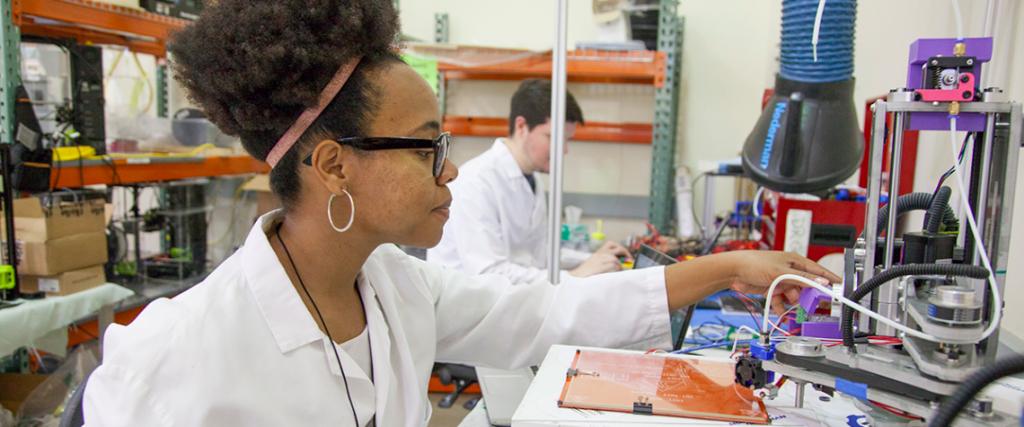 Engineering college targets under-represented minorities