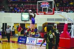 Titan slam-dunking legend returns as a Globetrotter