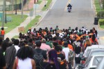 FAMU leadership and students march to the Capitol to advocate for gun law reform