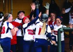 Wins over Wright State brighten Titans softball team's slow start