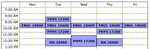 fake school schedule maker