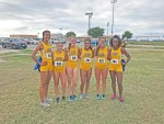 Women's XC team takes the gold in Blue and Gold Classic