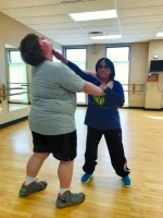 Self defense teacher shares her experience